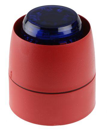 Cranford Controls Combi 32 Sounder Beacon 93dB, Blue LED, 18 → 35 V dc