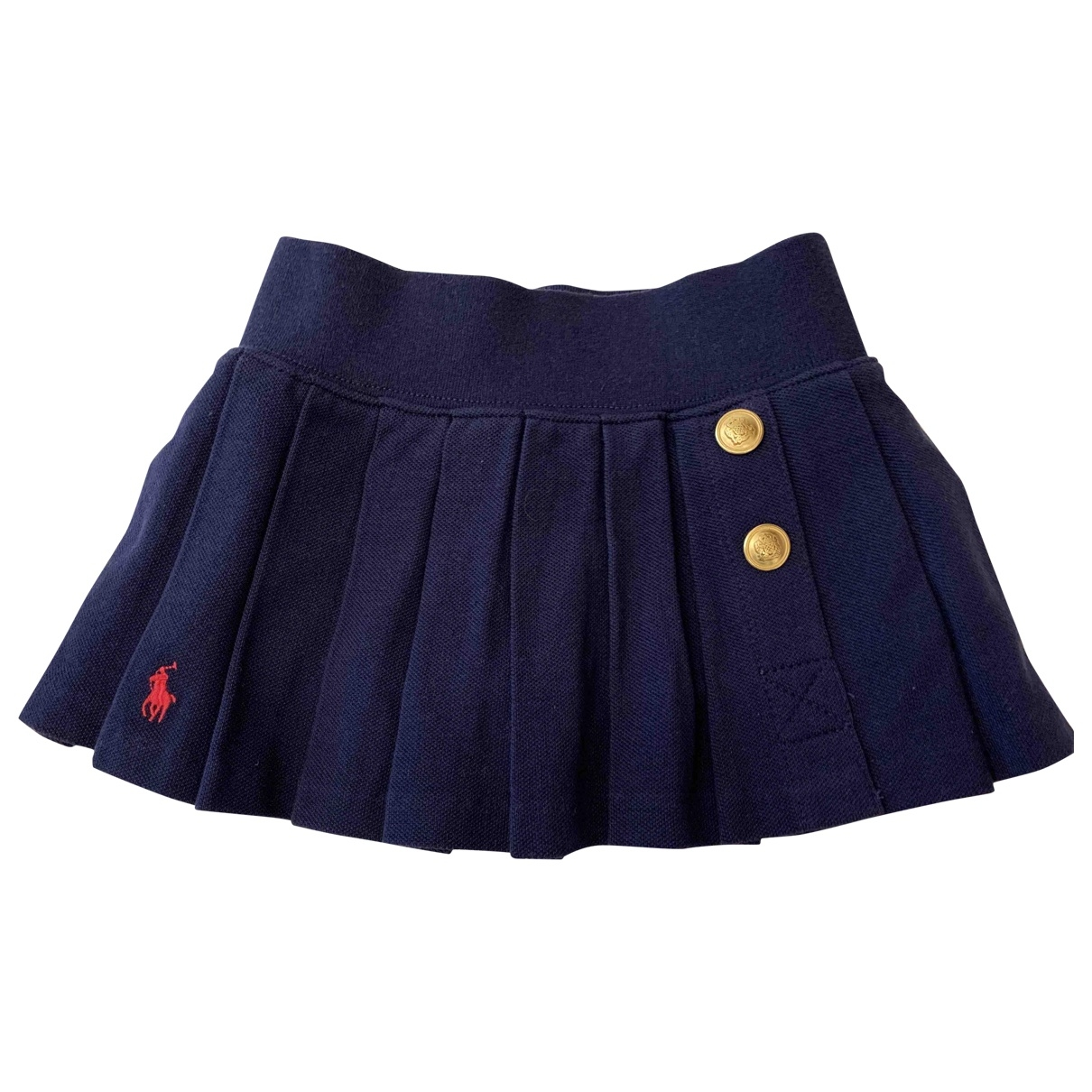 Polo Ralph Lauren \N Navy Cotton skirt for Kids 2 years - up to 86cm FR