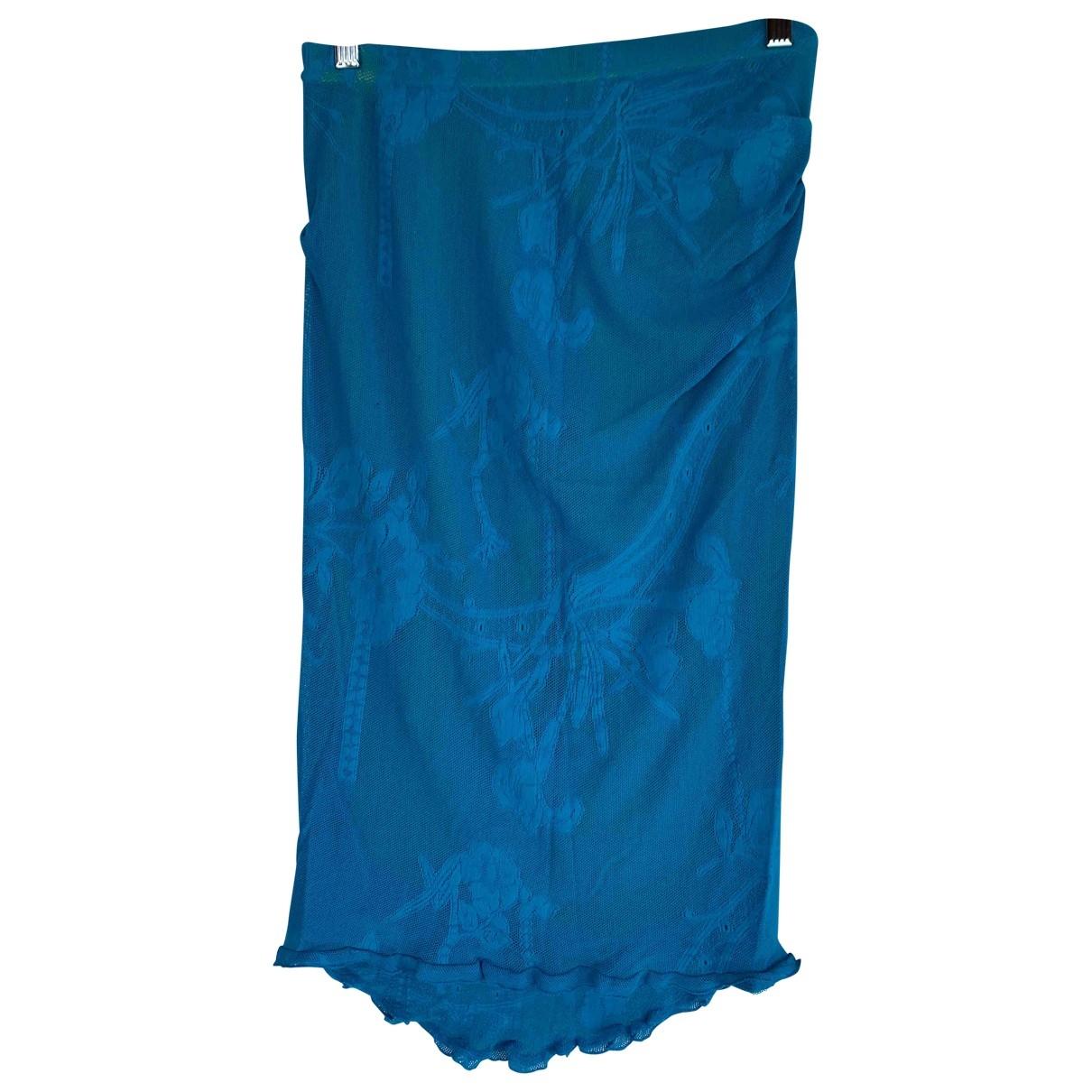 Karen Millen \N Turquoise skirt for Women 10 UK