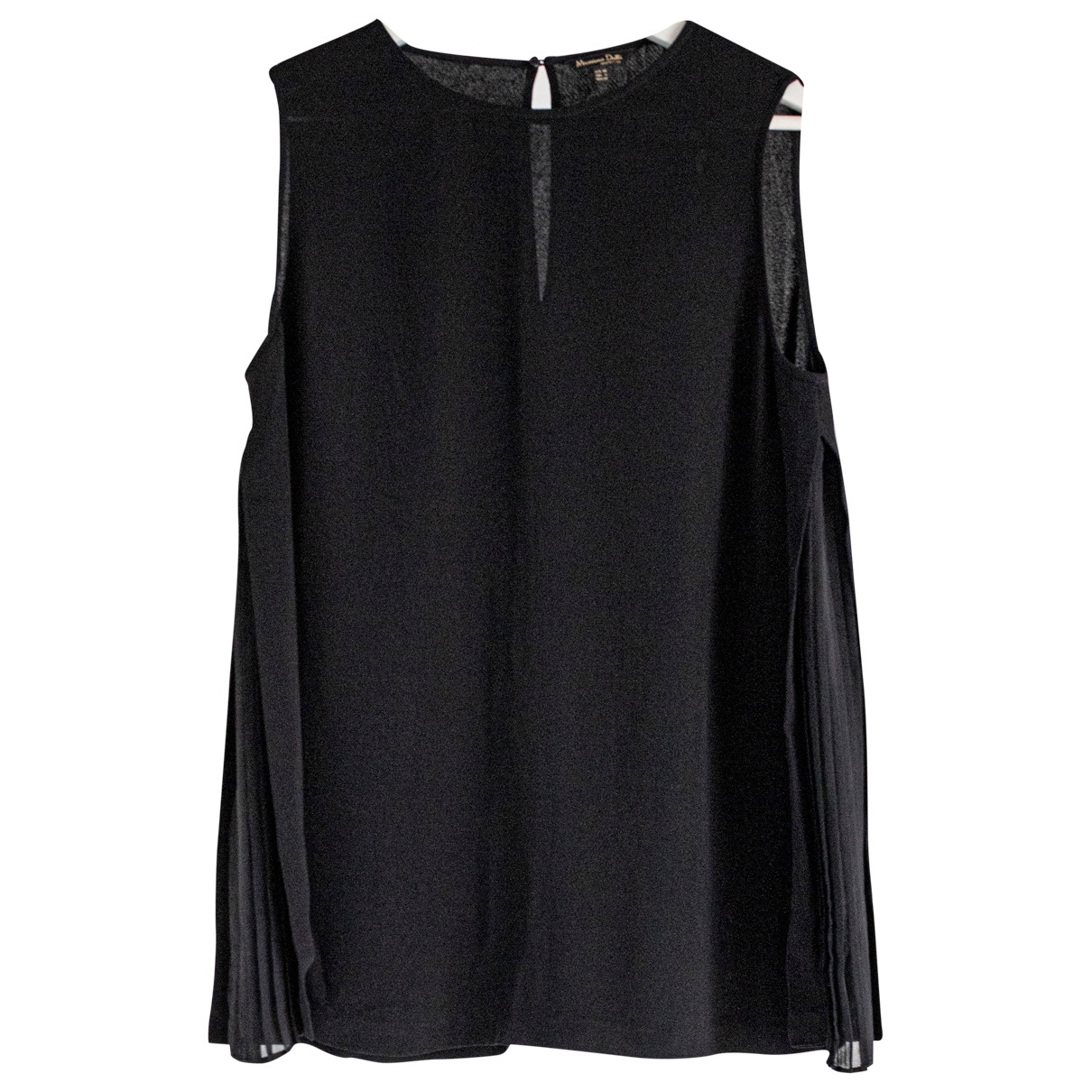 Massimo Dutti \N Black  top for Women 6 US