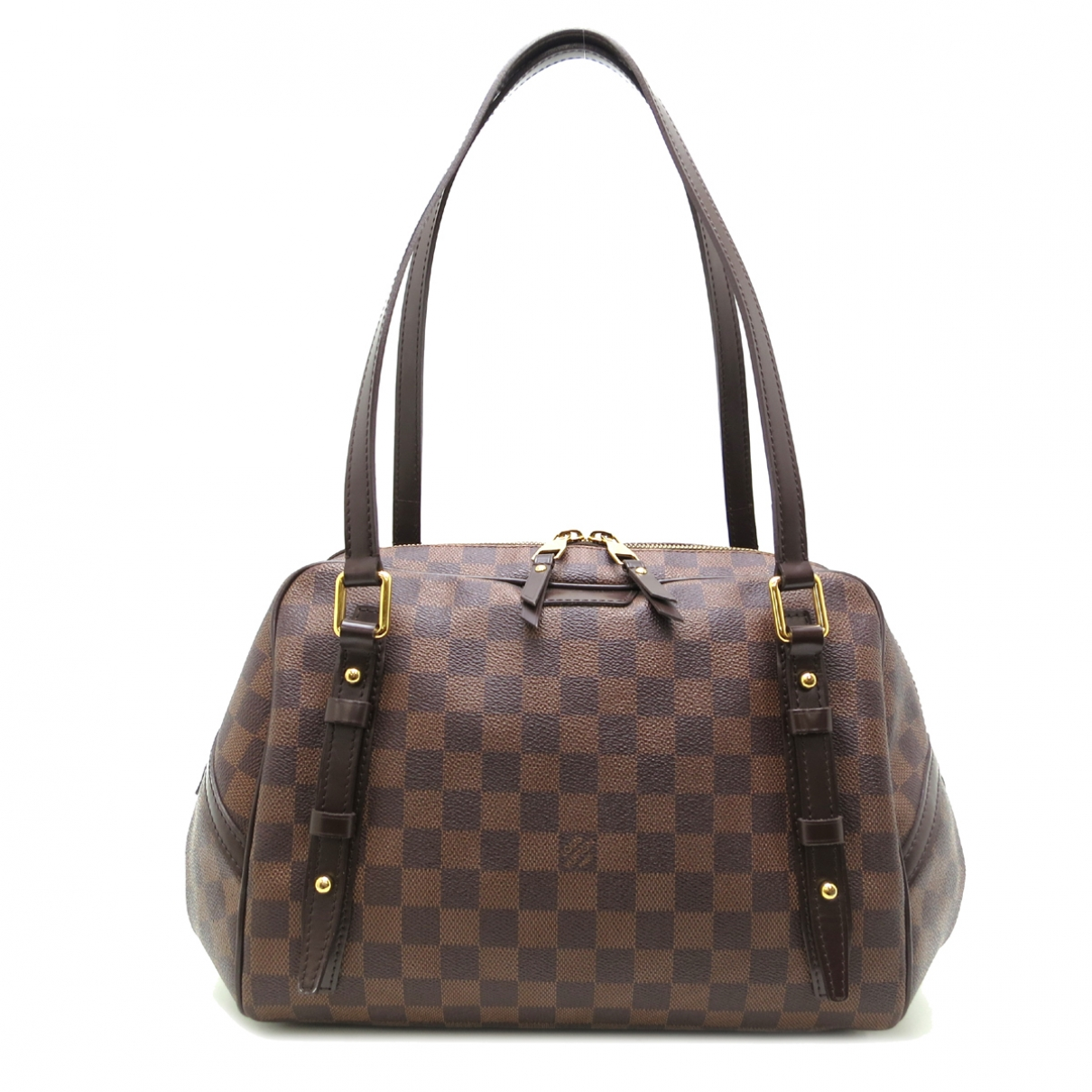Louis Vuitton Rivington Brown Cloth handbag for Women \N