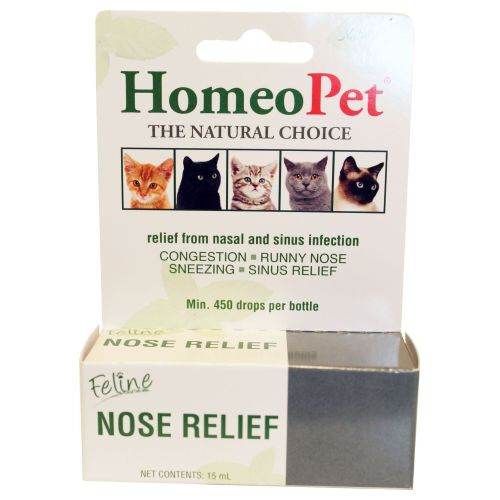 Feline Nose Relief 15 ml by HomeoPet Solutions