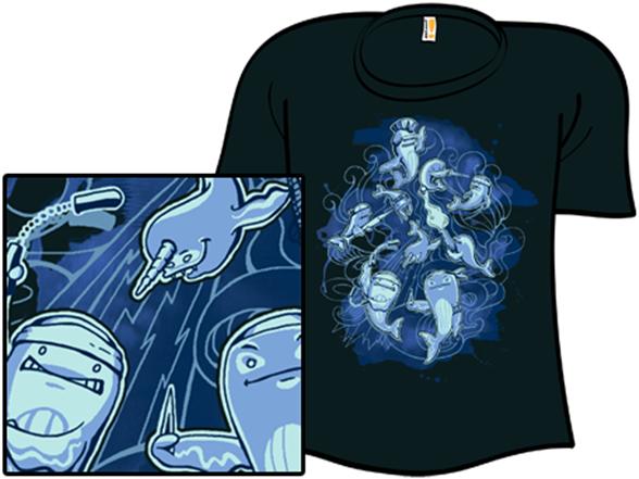 Deep Blue Death Squad T Shirt