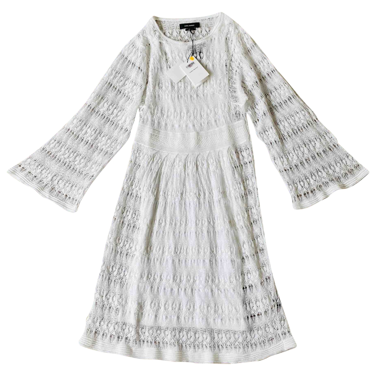 Isabel Marant \N White Linen dress for Women 34 FR