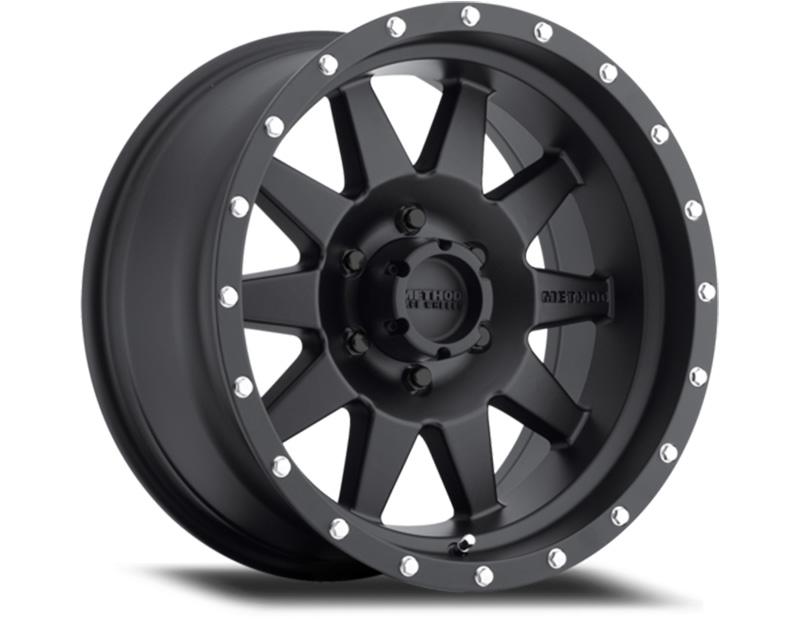 Method MR301 The Standard Wheels 20x10 6x5.5 -18mm Matte Black