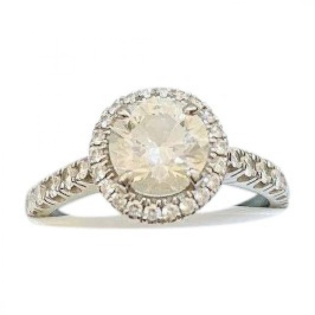 Cartier \N White gold ring for Women 52 EU