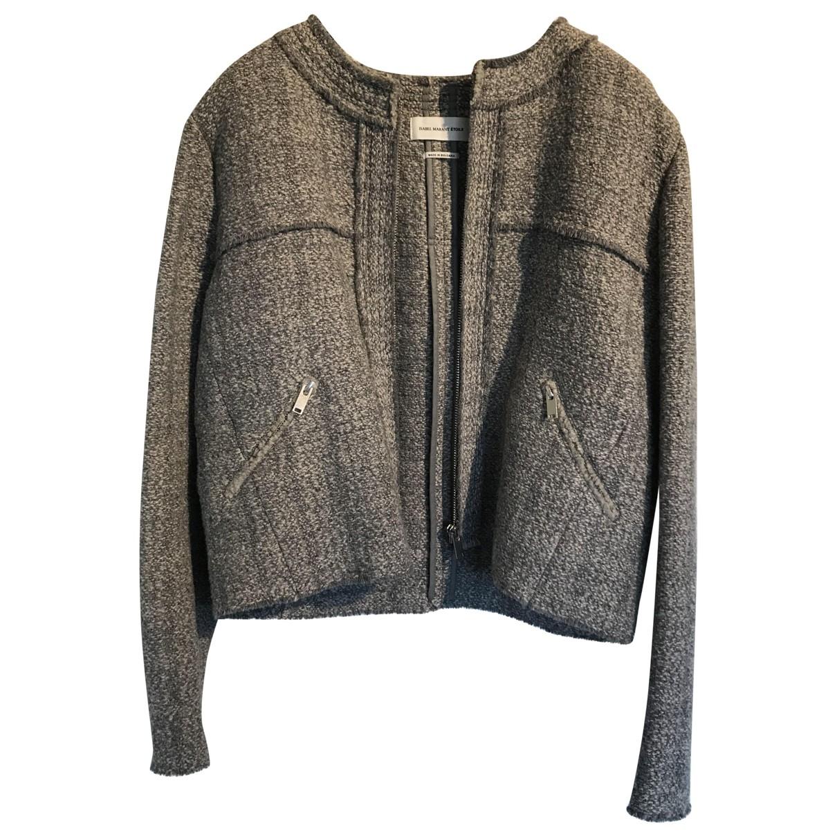 Isabel Marant Etoile \N Grey Wool jacket for Women 40 FR