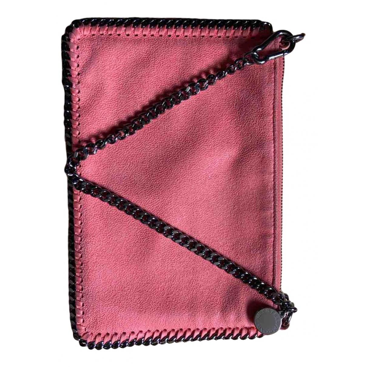 Stella Mccartney Falabella Pink Cloth Clutch bag for Women \N