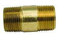 Tramec Sloan S113-02-3-R - 1/8 Long Nipple Yellow Brass 3.0