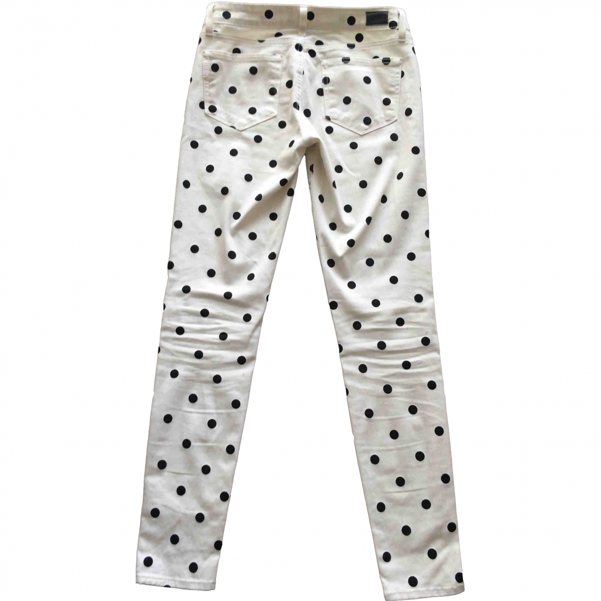 Paige Jeans \N White Cotton Jeans for Women 27 US