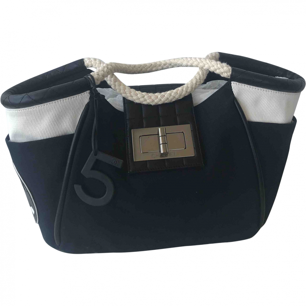 Chanel \N Black Cotton handbag for Women \N
