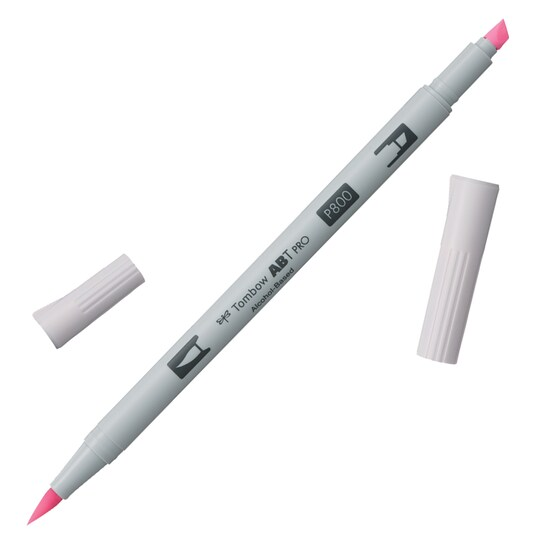 Tombow Abt Pro Alcohol-Based Art Marker in P800 Pale Pink | Michaels®