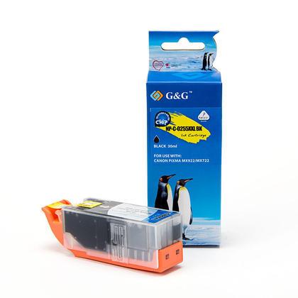 Compatible Canon PGI255 XXL cartouche d'encre noire extra haute capacite - G&G