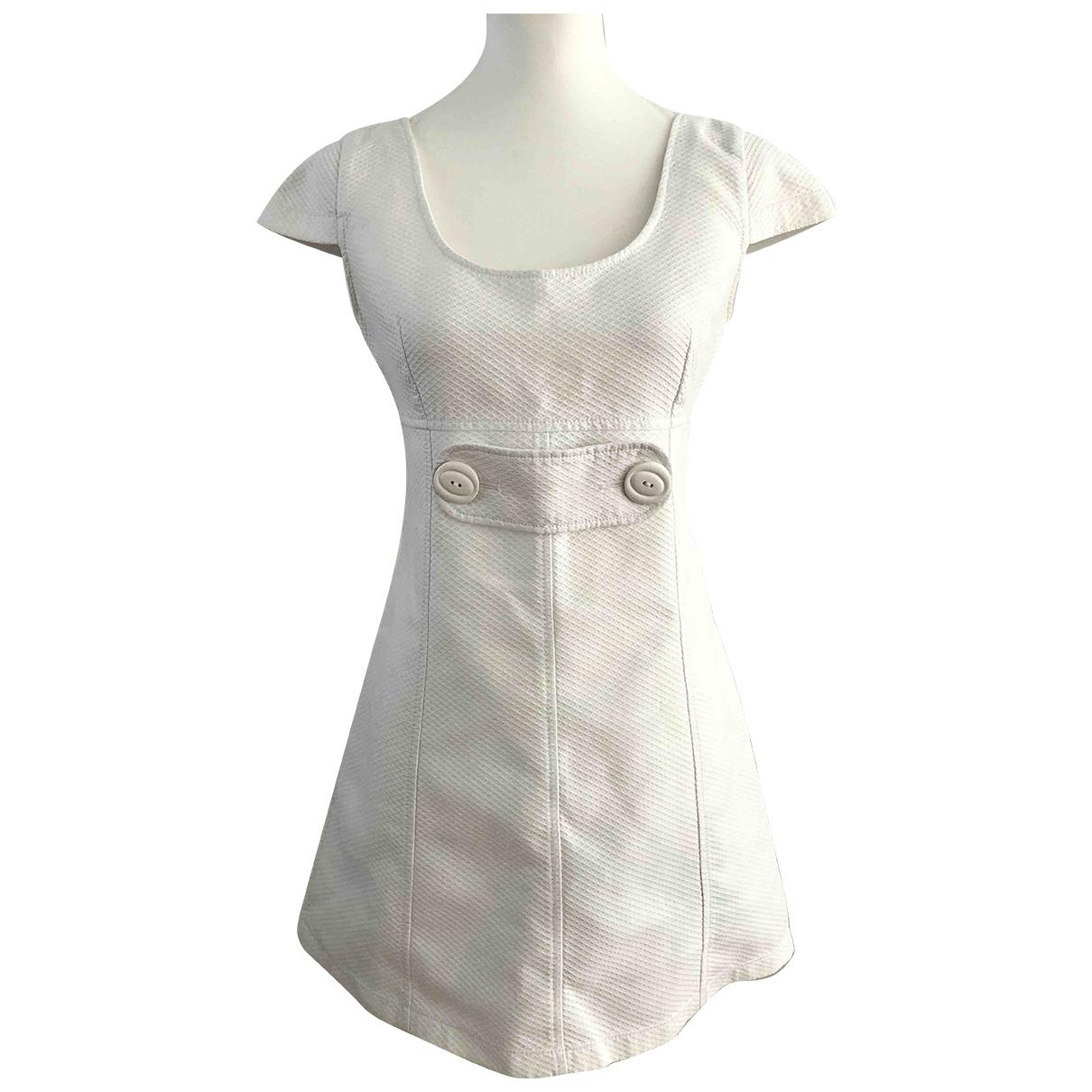 D&g \N White Cotton dress for Women 42 IT
