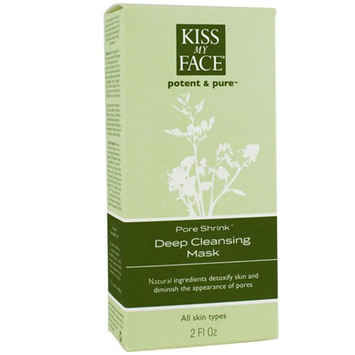 Pore Shrink Deep Pore Cleansing Mask 2 Oz by Kiss My Face