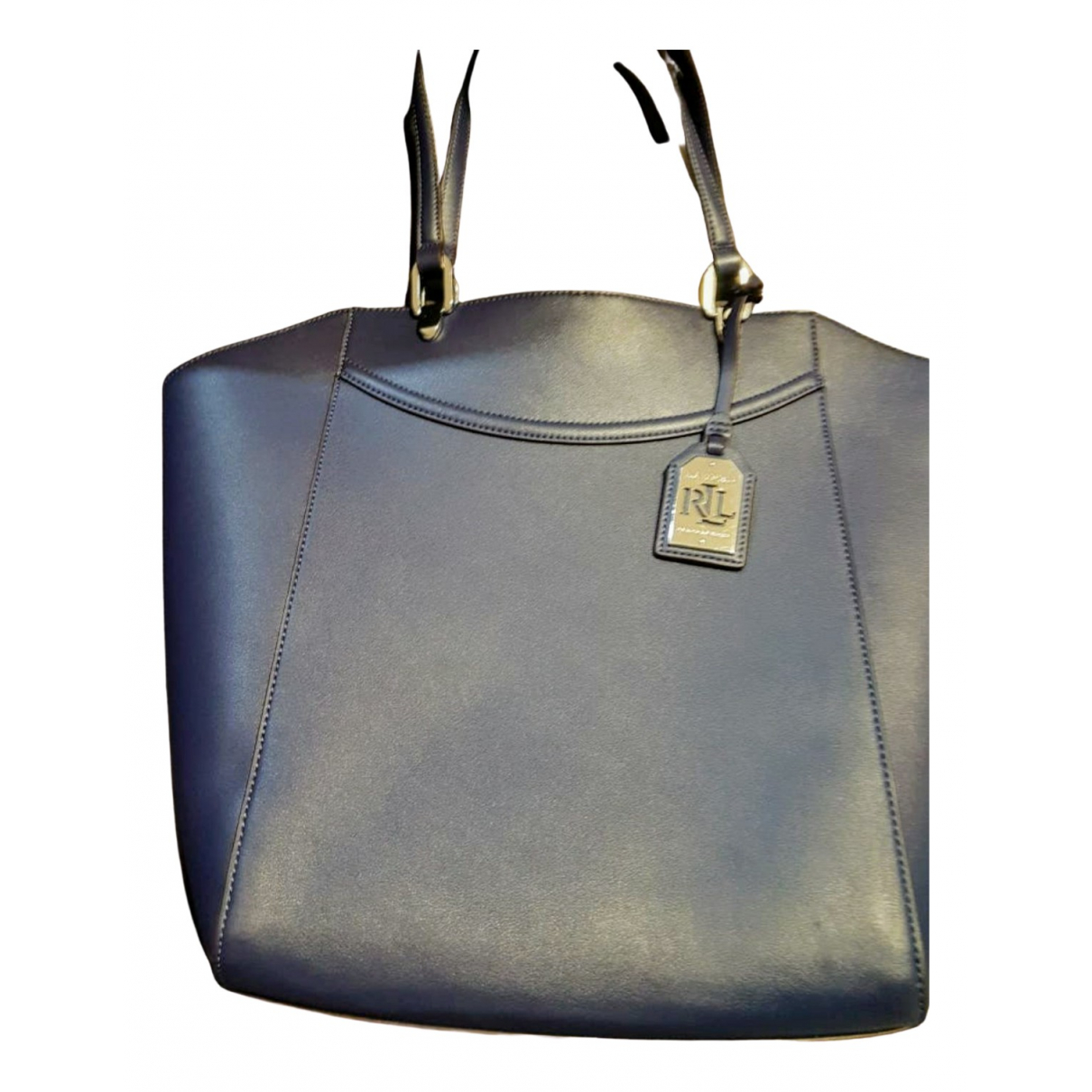 Lauren Ralph Lauren \N Blue Fur handbag for Women \N