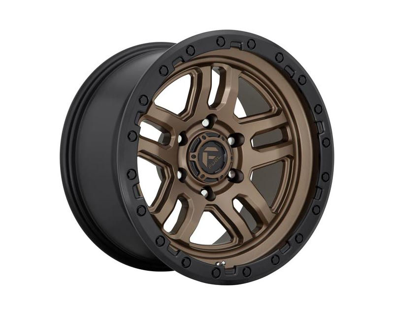 Fuel D702 Ammo Wheel 18x9 6X5.5 1mm Matte Bronze Black Bead Ring