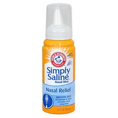 Simply Saline Sterile Nasal Mist Original 1.5 oz by Simply Saline