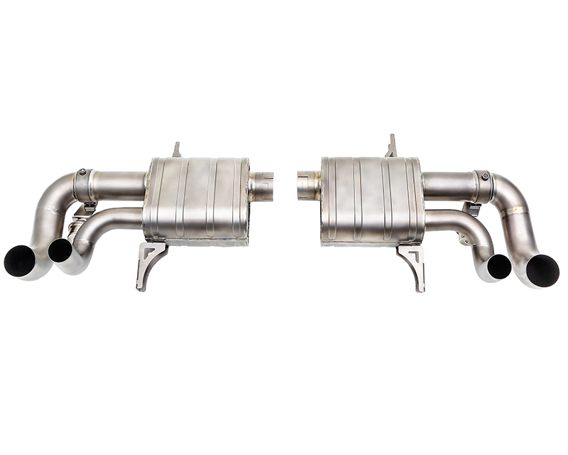 IPE Titanium Valvetronic Exhaust System with Remote and Polished Tips Lamborghini Gallardo LP550 | 560 | 570 V10 5.2L 09-13