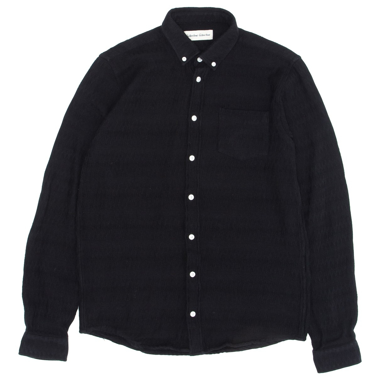 Libertine Libertine \N Black Cotton Shirts for Men S International