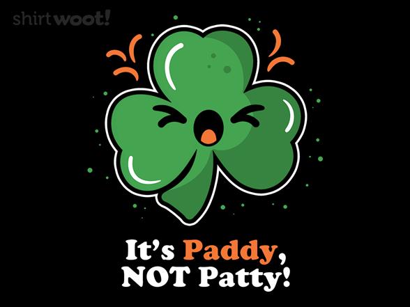 It's Paddy T Shirt