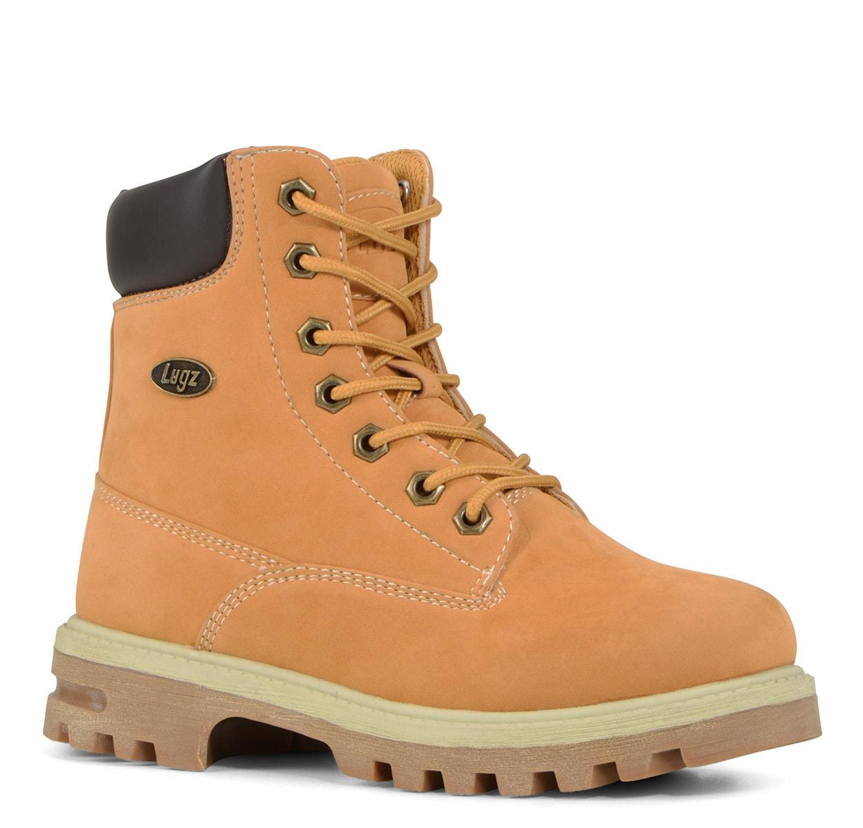 Gradeschool Empire Hi Water Resistant 6-Inch Boot (Choose Your Color: GOLDEN WHEAT/BARK/CREAM, Choose Your Size: 5.0)