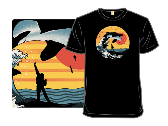The Great Whale T Shirt