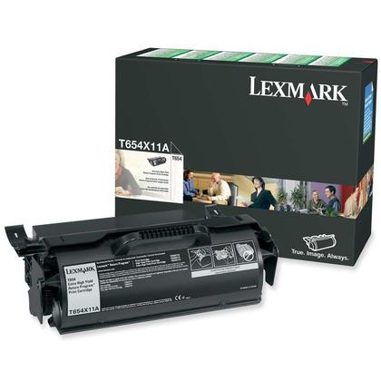 Lexmark T654X11A Original Black Return Program Toner Cartridge Extra High Yield