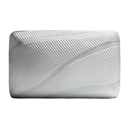 Tempur-Pedic Adapt Prohi + Cooling Memory Foam Soft Density Pillow, One Size , White