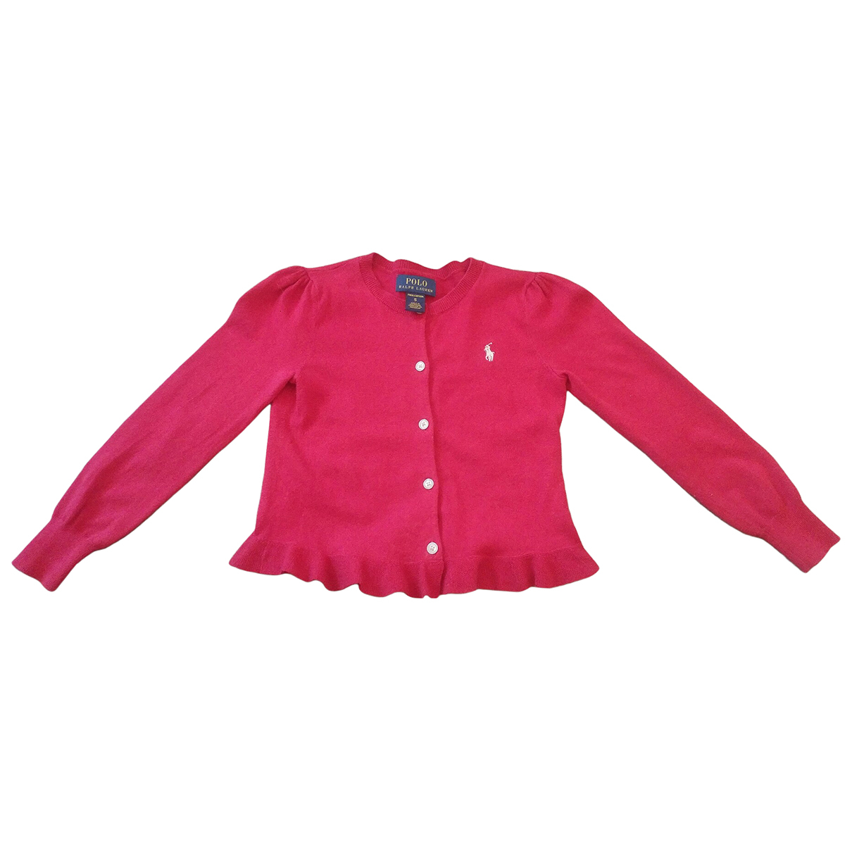 Polo Ralph Lauren \N Red Cotton Knitwear for Kids 5 years - up to 108cm FR