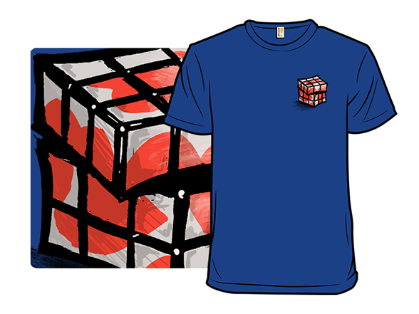 Puzzled Heart T Shirt