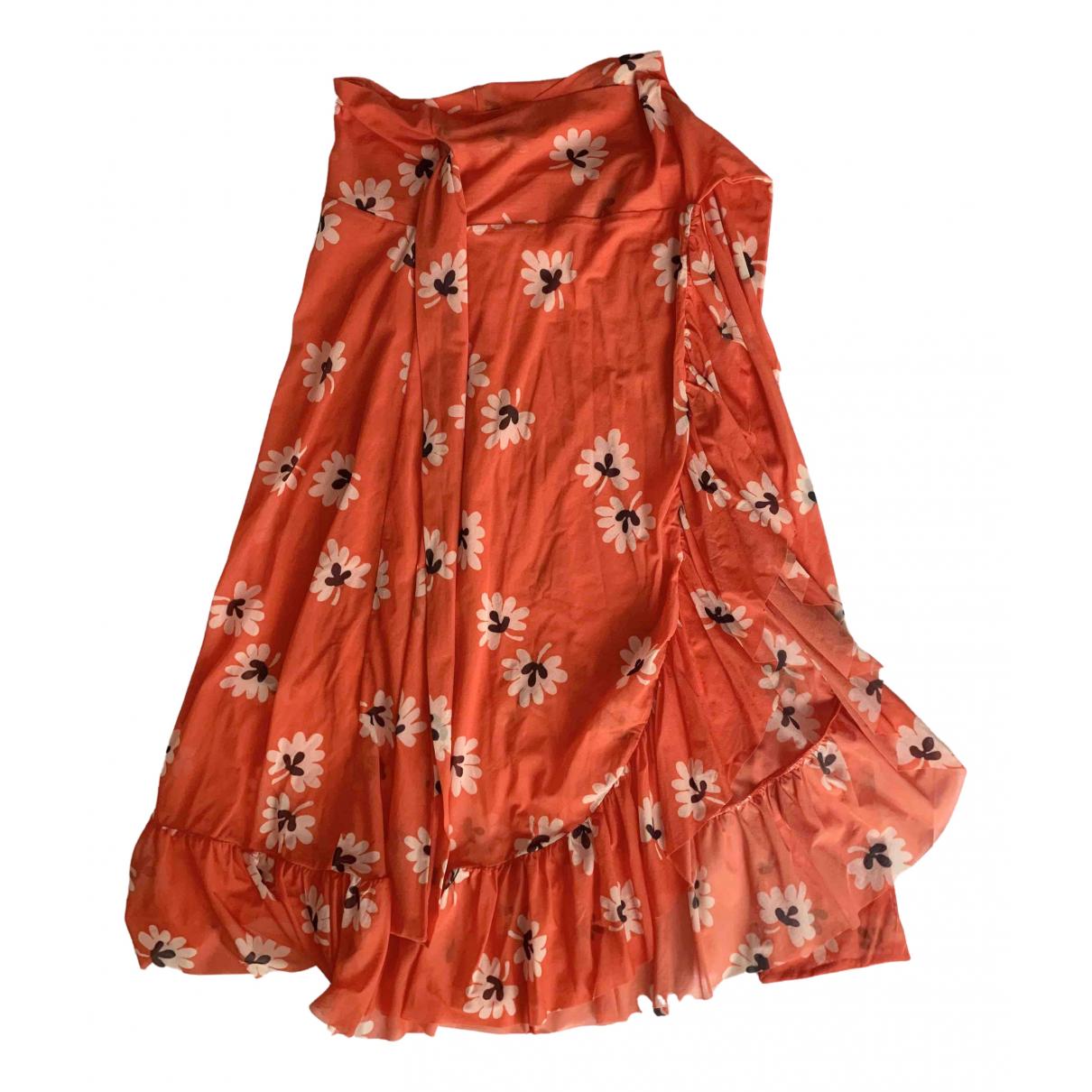 Ganni \N Orange skirt for Women XS International