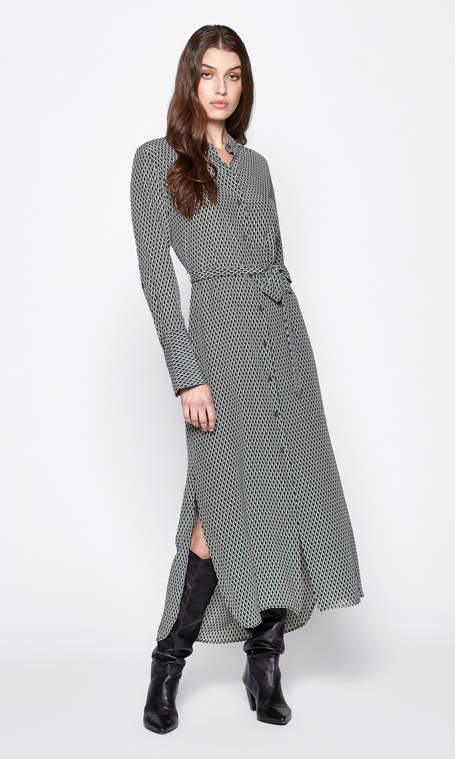 Connell Silk Maxi Dress by Equipment