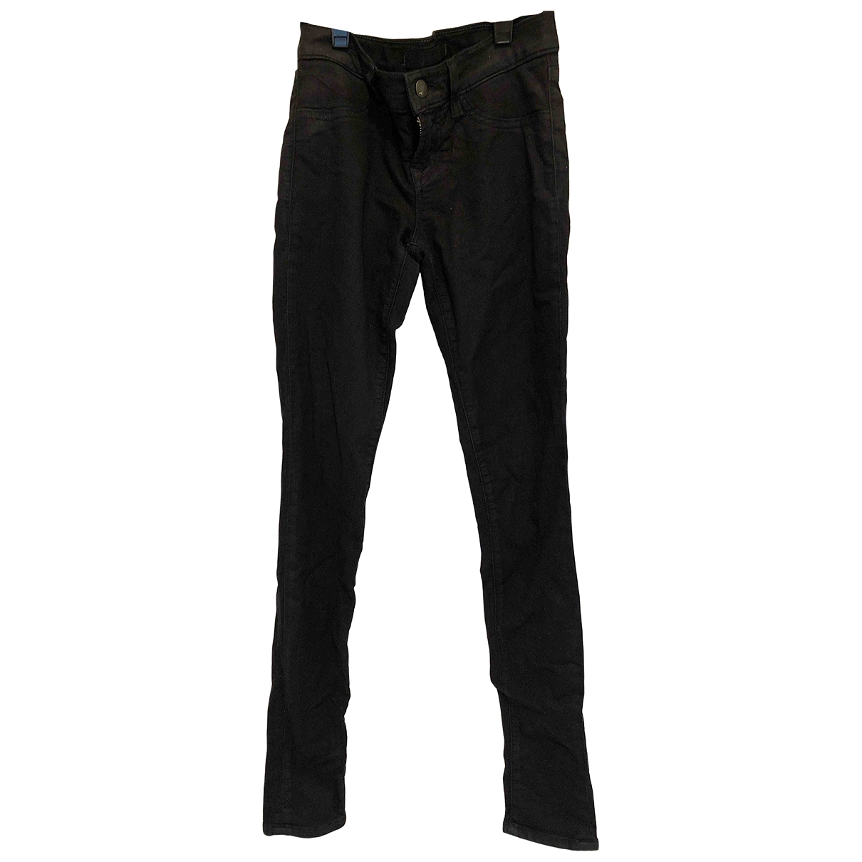 J Brand \N Black Cotton - elasthane Jeans for Women 24 US