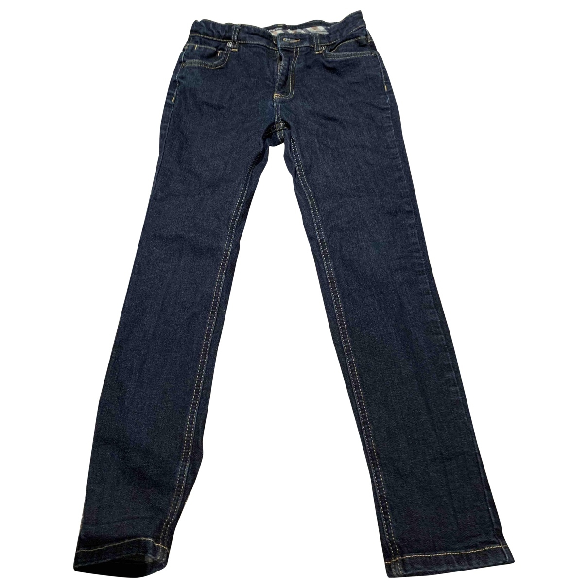 Aquascutum \N Navy Denim - Jeans Trousers for Kids 10 years - up to 142cm FR
