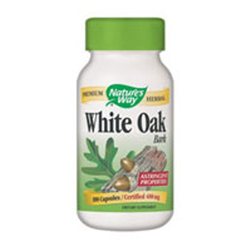 White Oak Bark 100 Caps by Nature's Way