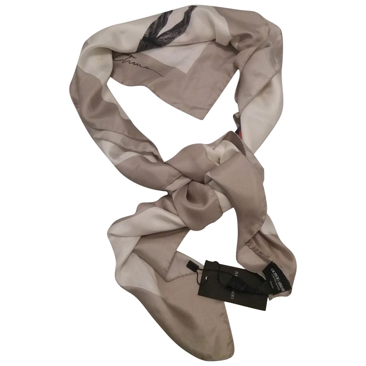 Giorgio Armani \N Multicolour Silk Silk handkerchief for Women \N
