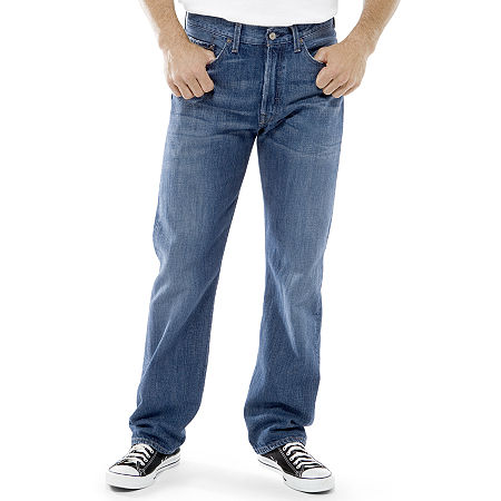 Levi's 505 Regular Fit Jeans-Big & Tall, 54 32, Blue
