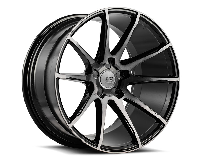 Savini BM12-22105515D2579 di Forza Gloss Black with Double Dark Tint BM12 Wheel 22x10.5 5x115 25mm