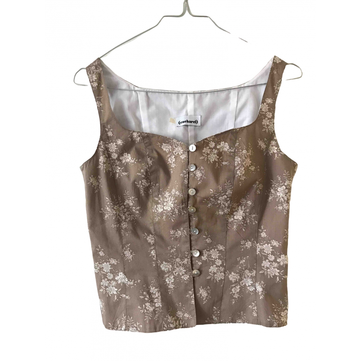 Cacharel \N Beige Cotton  top for Women 36 FR