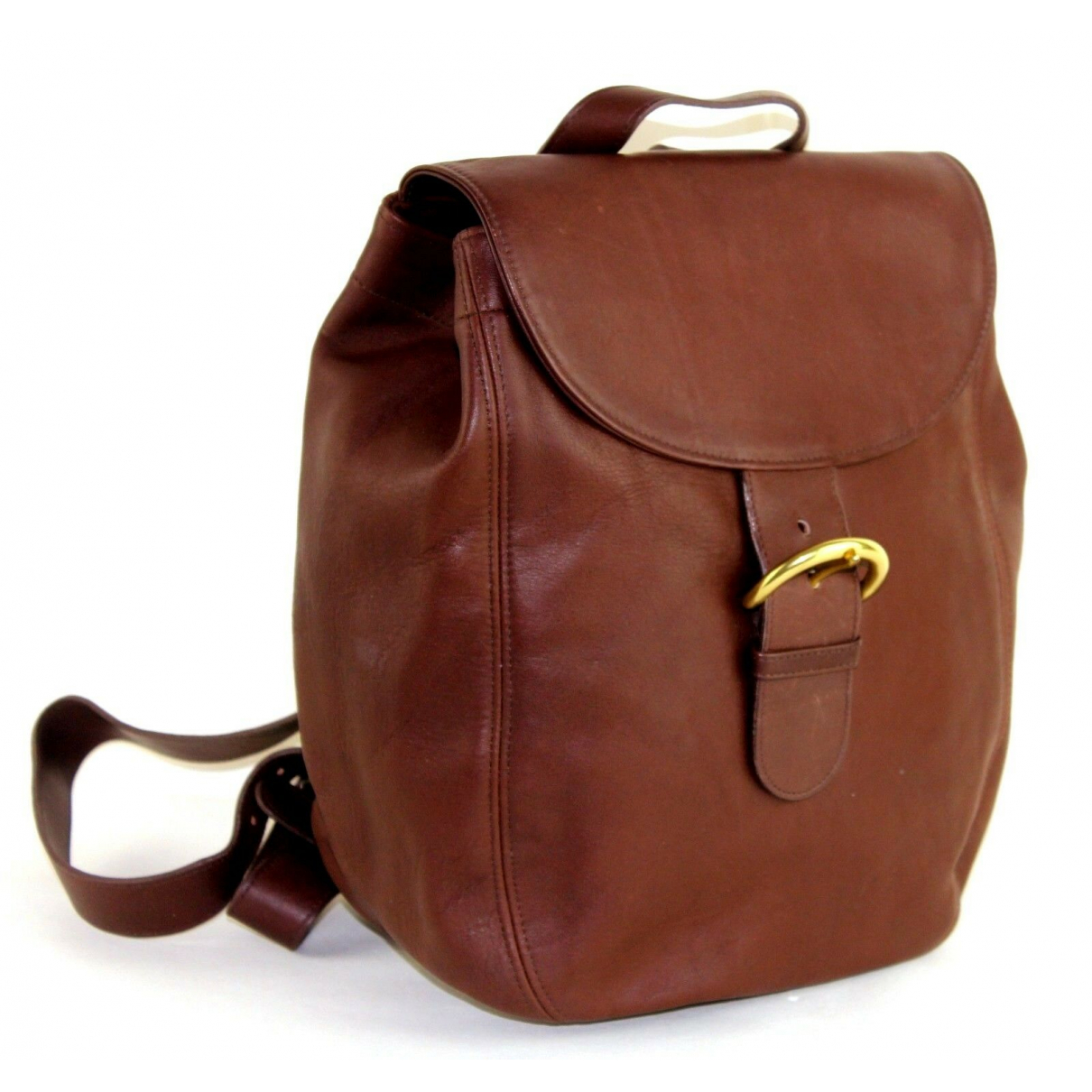 Coach \N Brown Leather backpack for Women \N