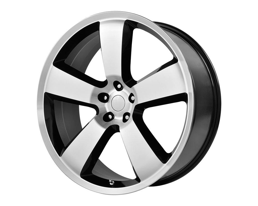OE Creations 119B-299020 PR119 Wheel 20x9 5x5x115 +20mm Gloss Black/Machined Lip