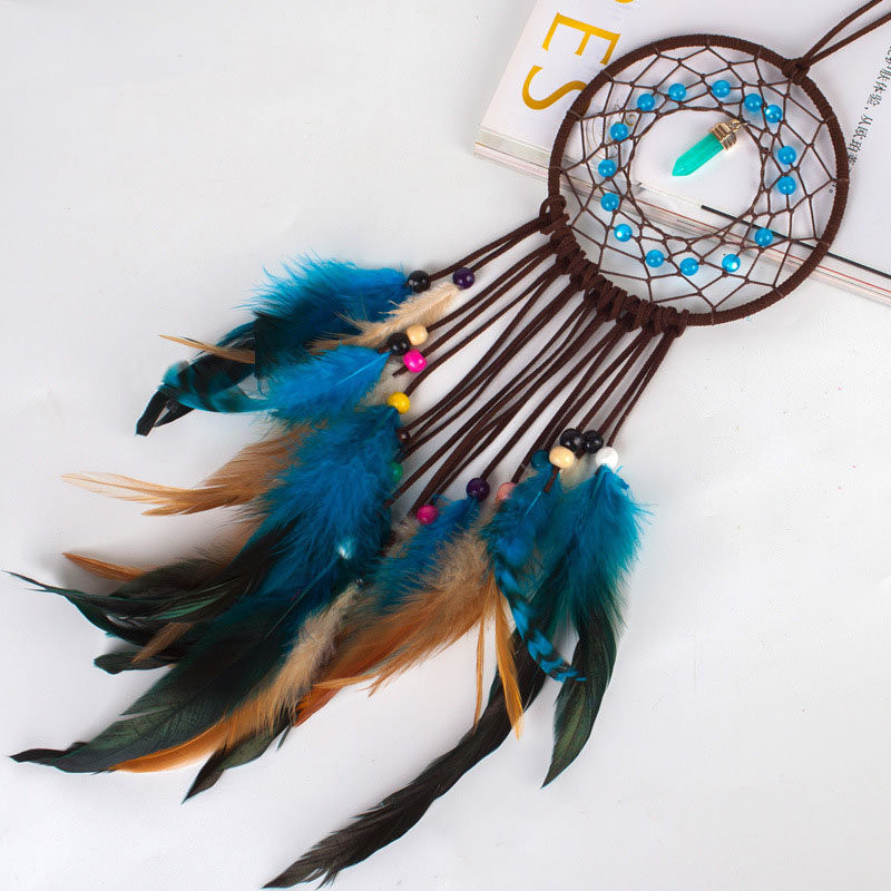INS Style Dream-catcher DIY Handmade Kit Beginner Knitting Package Hanging Finished Dreamcatcher