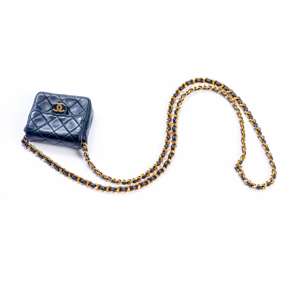 Chanel Timeless/Classique Navy Leather handbag for Women \N