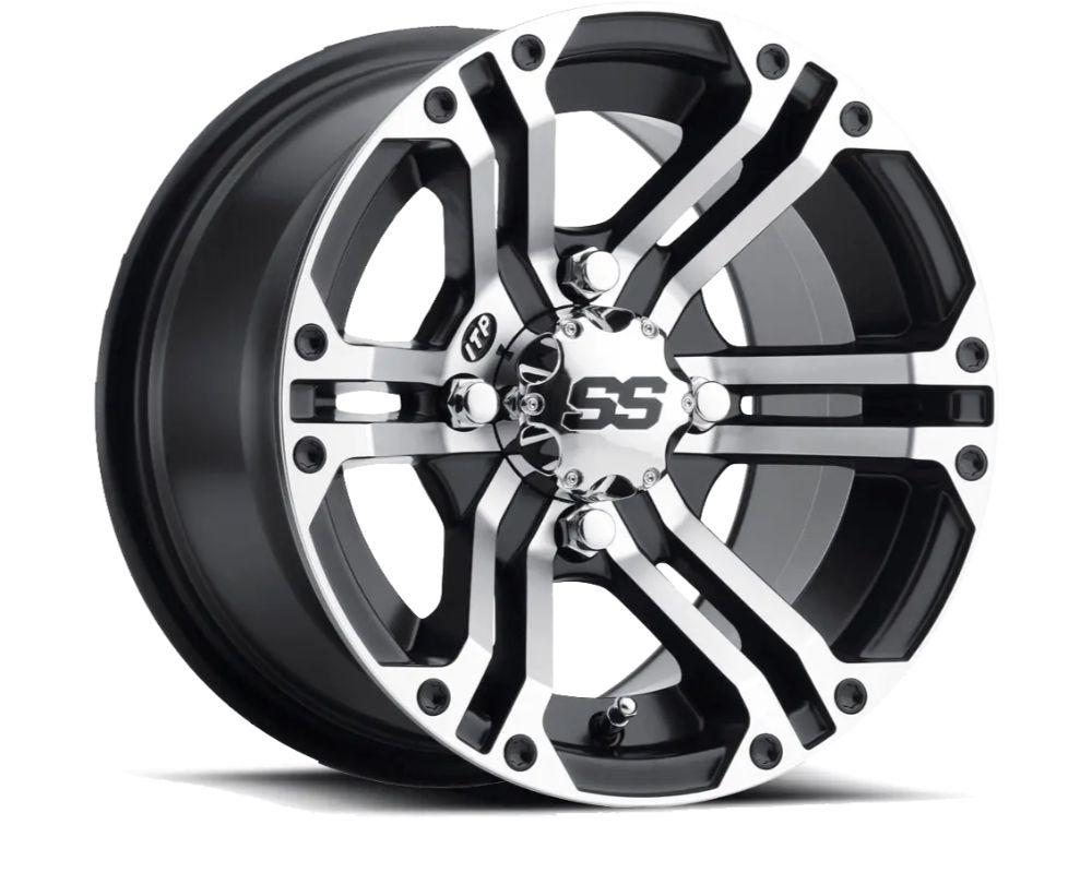 ITP 1428376536B SS212 Wheel 14x8 4x156 5+3 Black