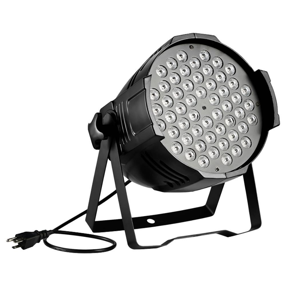 Tycolit 80W RGB LED Stage Light 7 Colors Lighting For Disco Club Party DJ Show Wedding - Black