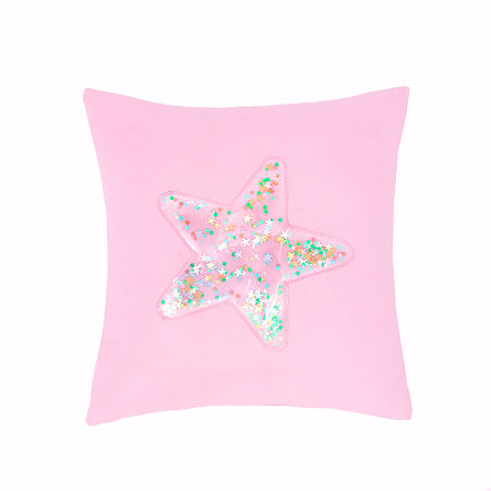 Frank And Lulu Confetti Star Square Throw Pillow, One Size , Multiple Colors