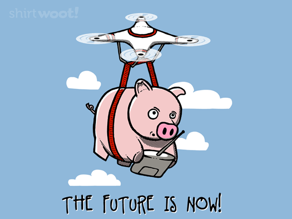 The Future Is Now T Shirt