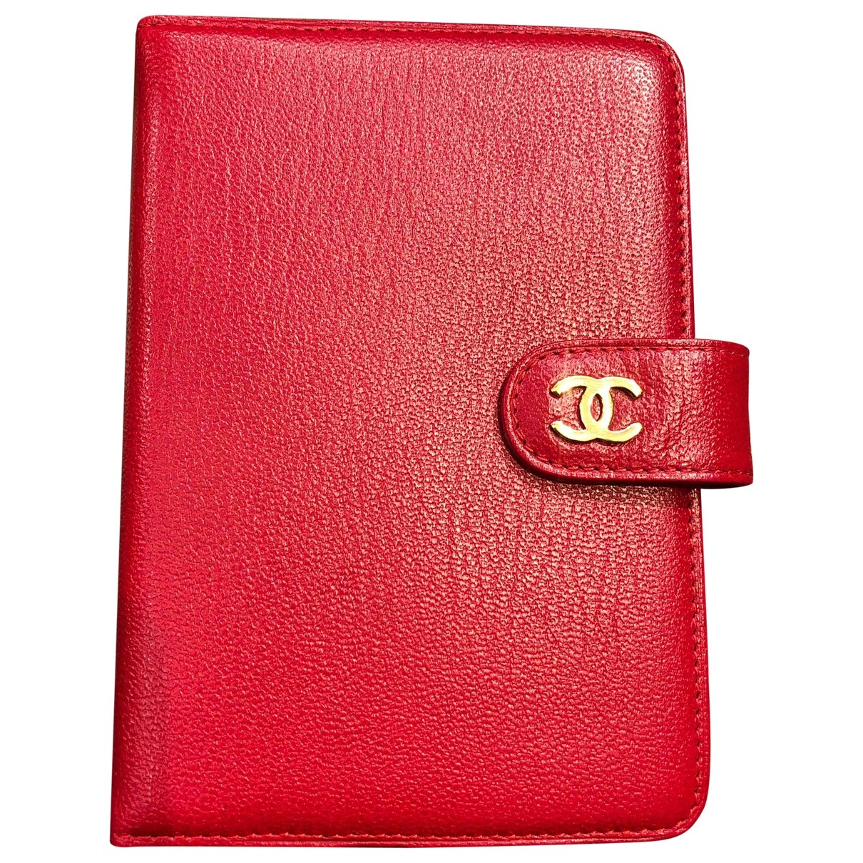 Chanel Timeless/Classique Red Leather Home decor for Life & Living \N