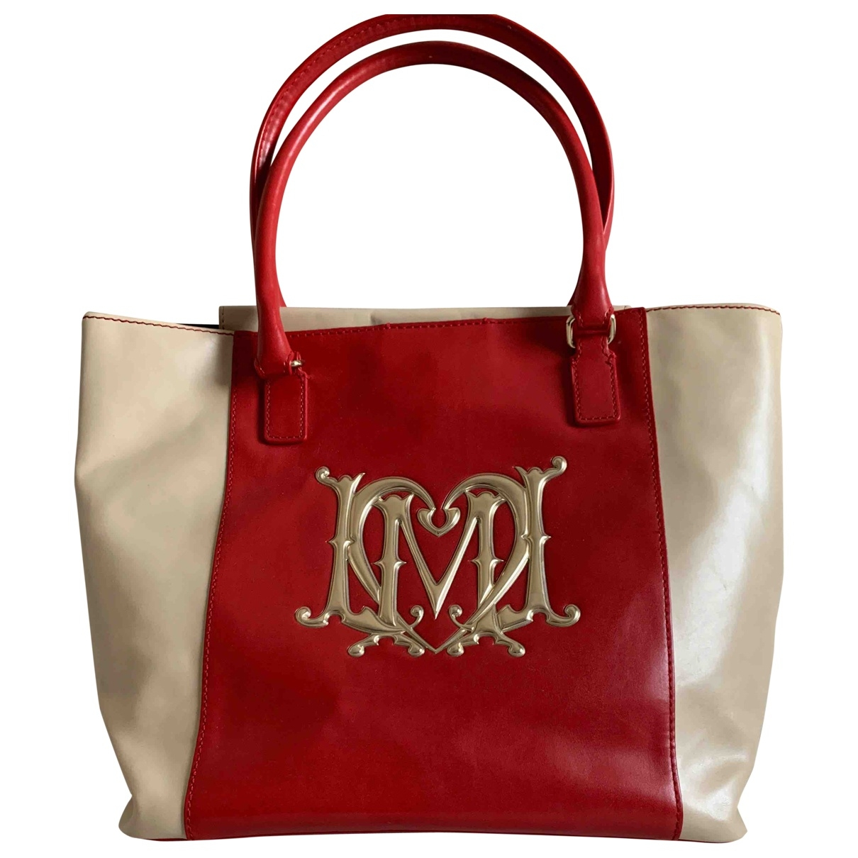 Moschino Love \N Red Leather handbag for Women \N